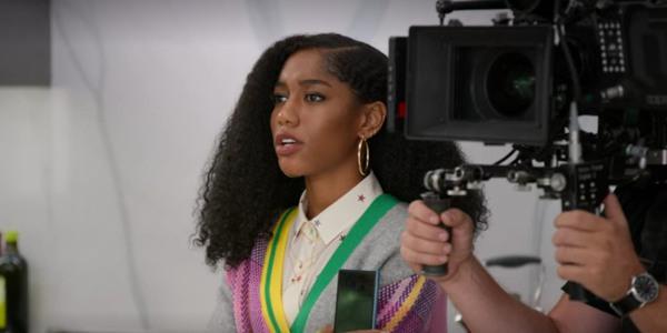 Iman Benson (Drea) in una scena di #BlackAF - CREDITS: web