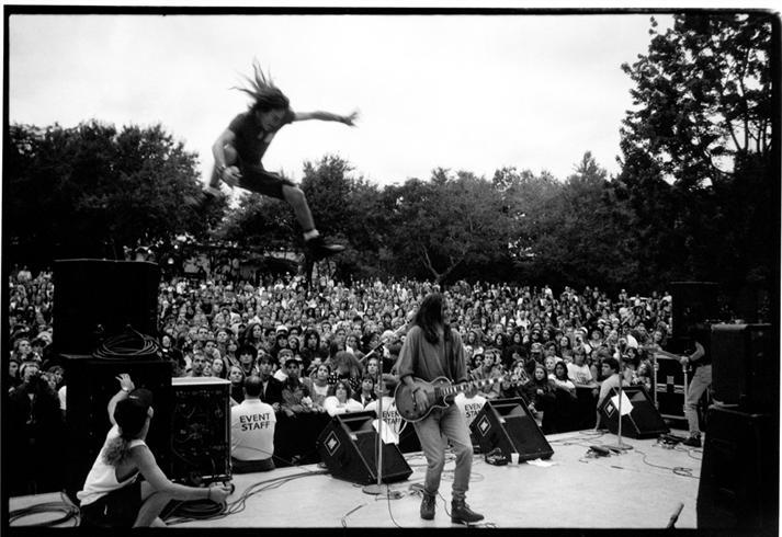Un concerto dei Pearl Jam all'epoca di Ten - Credits: Morrison Hotel Gallery