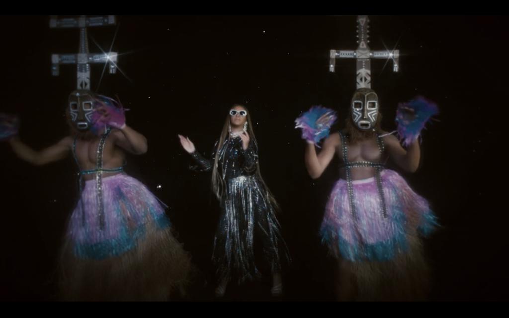 Le maschere Kanaga, Black is King - CREDITS: Blitz Bazawule