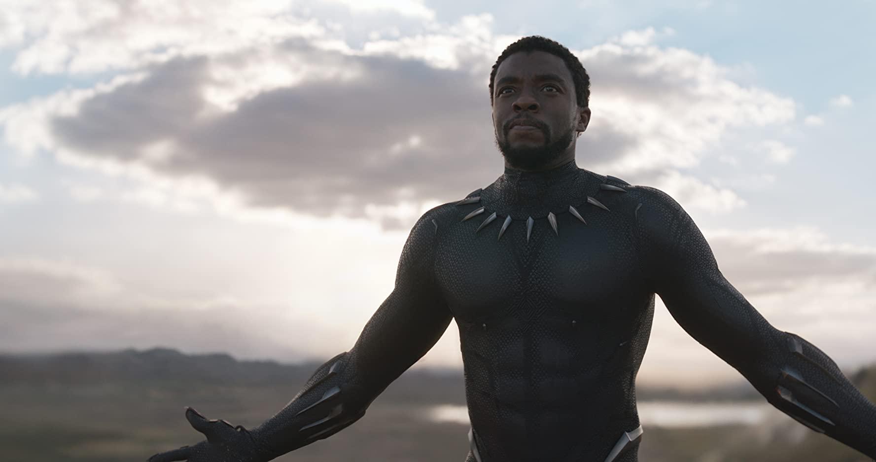 Chadwick Boseman, Black Panther - CREDITS: IMDB.com