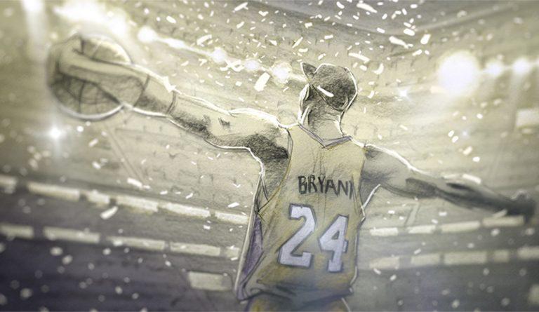 Kobe Bryant, Dear Basketball, 8/24 - CREDITS: dearbasketball.com