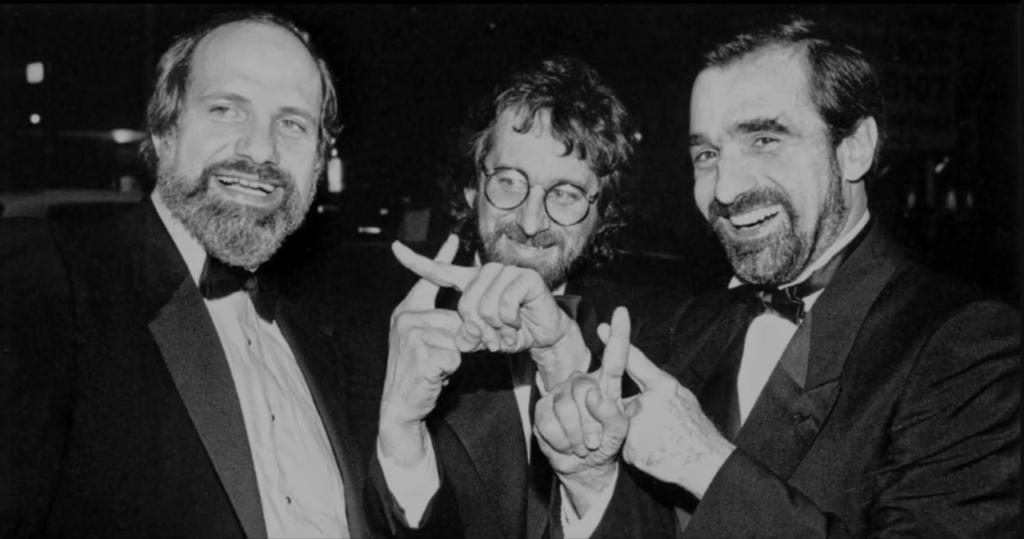 Brian De Palma con Steven Spielberg e Martin Scorsese - CREDITS: web