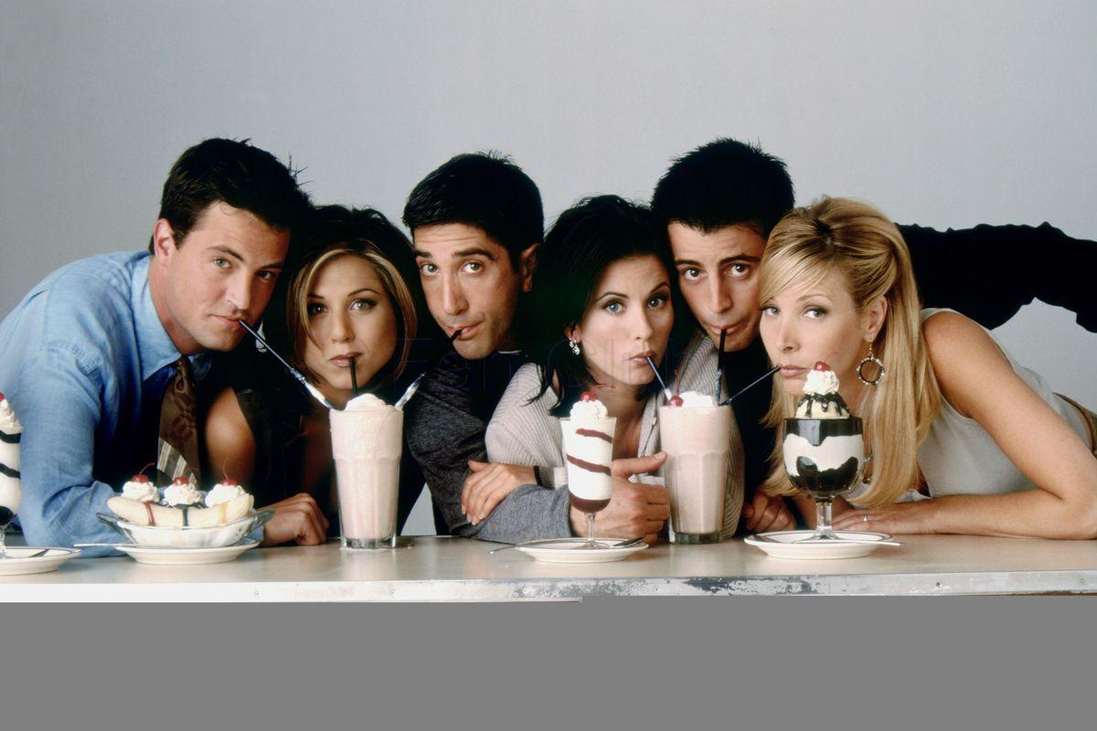 Friends TV series - CREDITS: web