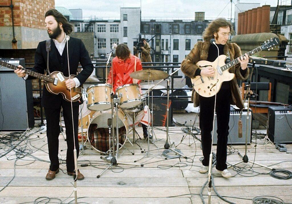 L'ultimo concerto dei Beatles, il 20 Gennaio 1969 - Credits: web