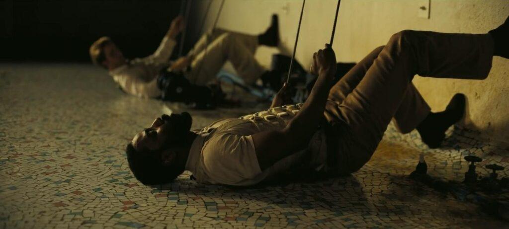 Una scena di TENET, Christopher Nolan (2020) - CREDITS: web