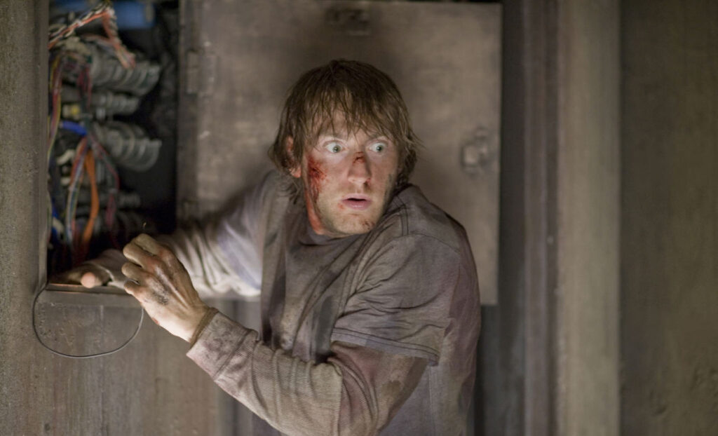 Frame tratto dall'horror The Cabin in the Woods, in streaming su Netflix