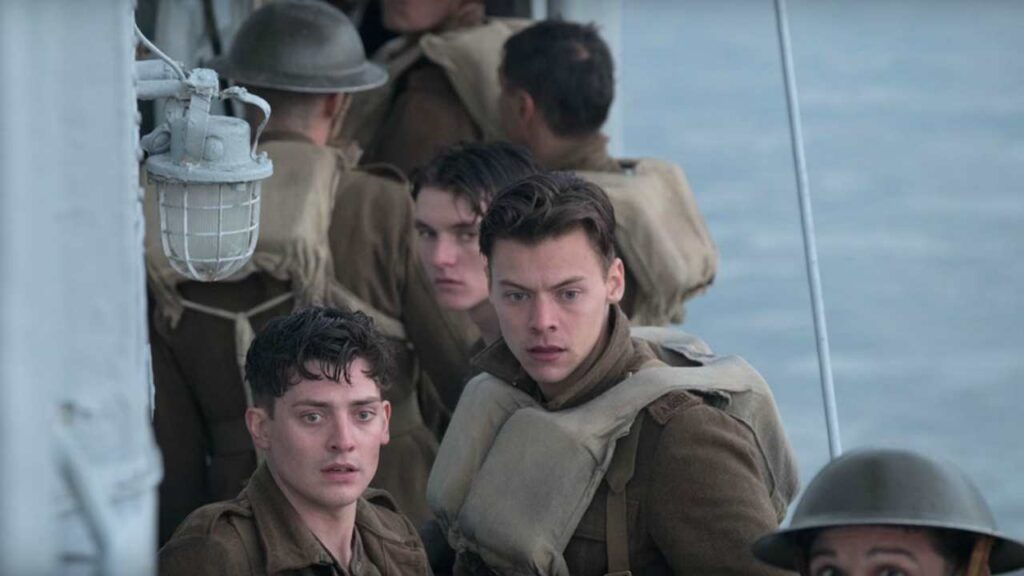 Harry Styles in Dunkirk, CHristopher Nolan - CREDITS: web