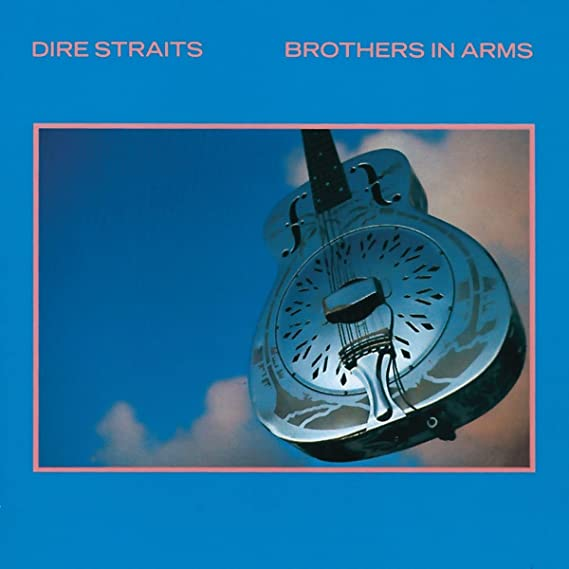 Chitarra resofonica sulla cover di Brothers in Arms (1985) - Credits: web