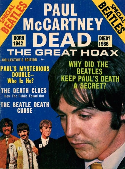 Titoli su Paul McCartney: credits: web