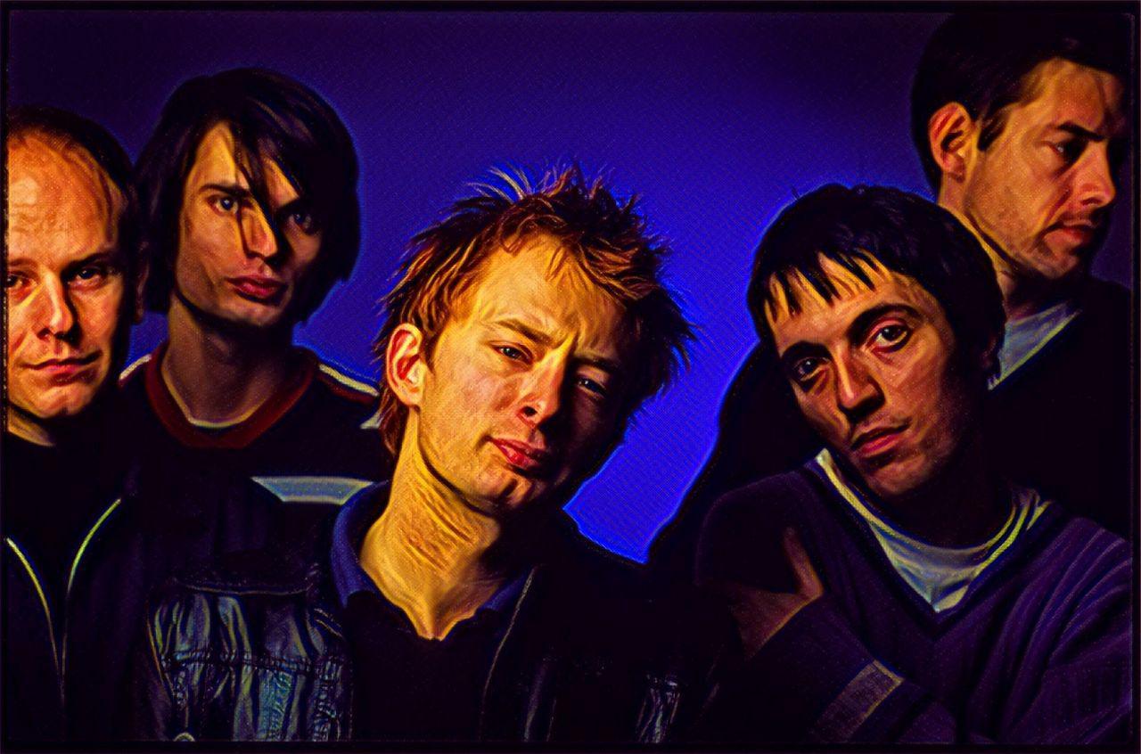 radiohead formazione ufficilae