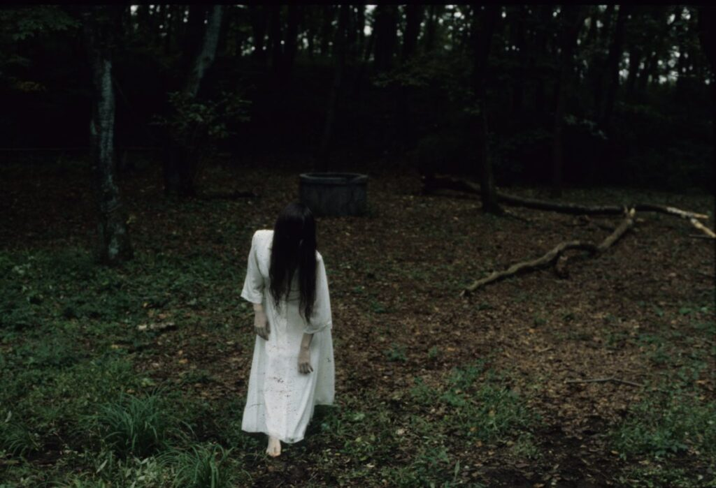 Frame tratto dal film horror Ring (Ringu), in streaming su Amazon Prime Video