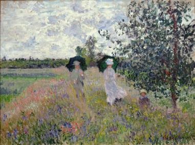 Claude Monet (1840-1926) Passeggiata ad Argenteuil, 1875 Olio su tela, 61x81,4 cm Parigi, Musée Marmottan Monet, dono Nelly Sergeant-Duhem, 1985 © Musée Marmottan Monet, Paris / Bridgeman Images