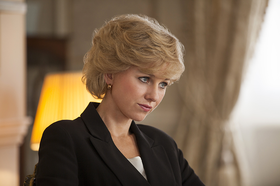 Naomi Watts nel ruolo di Diana - credits: web