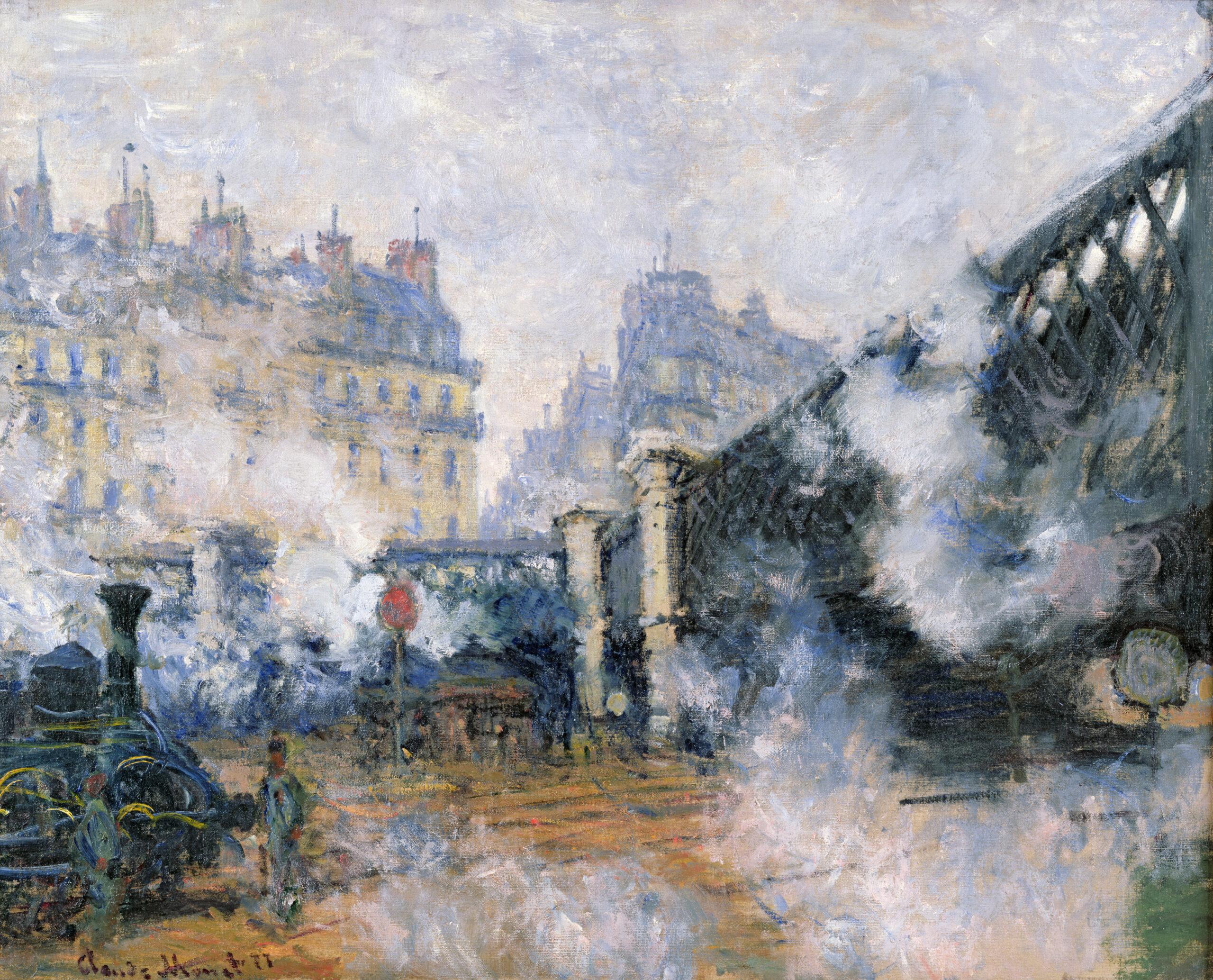 Claude Monet (1840-1926) Il ponte dell'Europa, Stazione SaintLazare, 1877 Olio su tela, 65x81 cm Parigi, Musée Marmottan Monet, dono Eugène e Victorine Donop de Monchy, 1940 © Musée Marmottan Monet, Paris / Bridgeman Images
