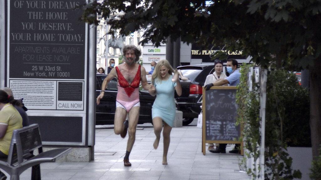 Sacha Baron Cohen and Maria Bakalova in 'Borat Subsequent Moviefilm' - Credits: web