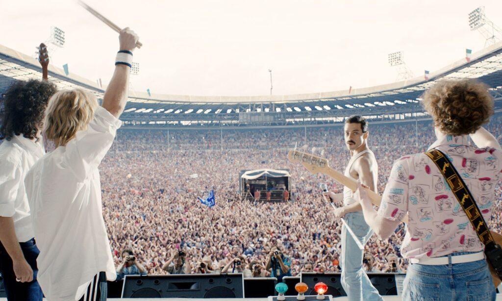 Bohemian Rhapsody (2018), Live Aid - credits: Vanity Fair