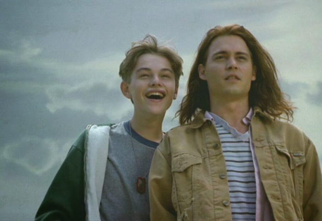 Leonardo DiCaprio e Johnny Depp, Buon Compleanno Mr. Grape - credits: Academy on demand