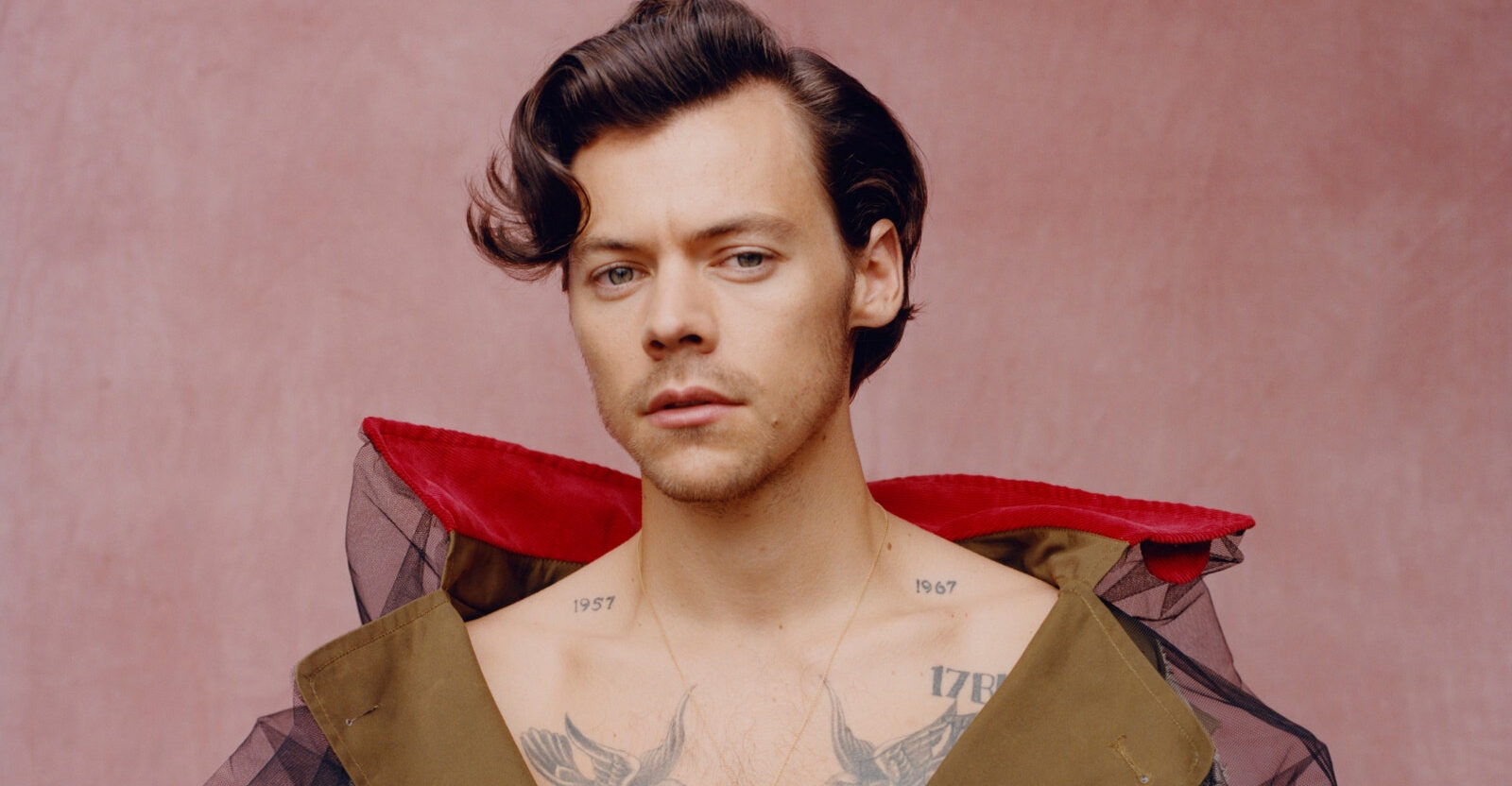 Harry Styles, Photo Credits: Tyler Mitchell© Vogue, dicembre 2020