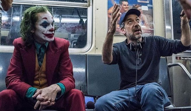 Preparazione di una scena di Joker - Credits: Warner Bros.