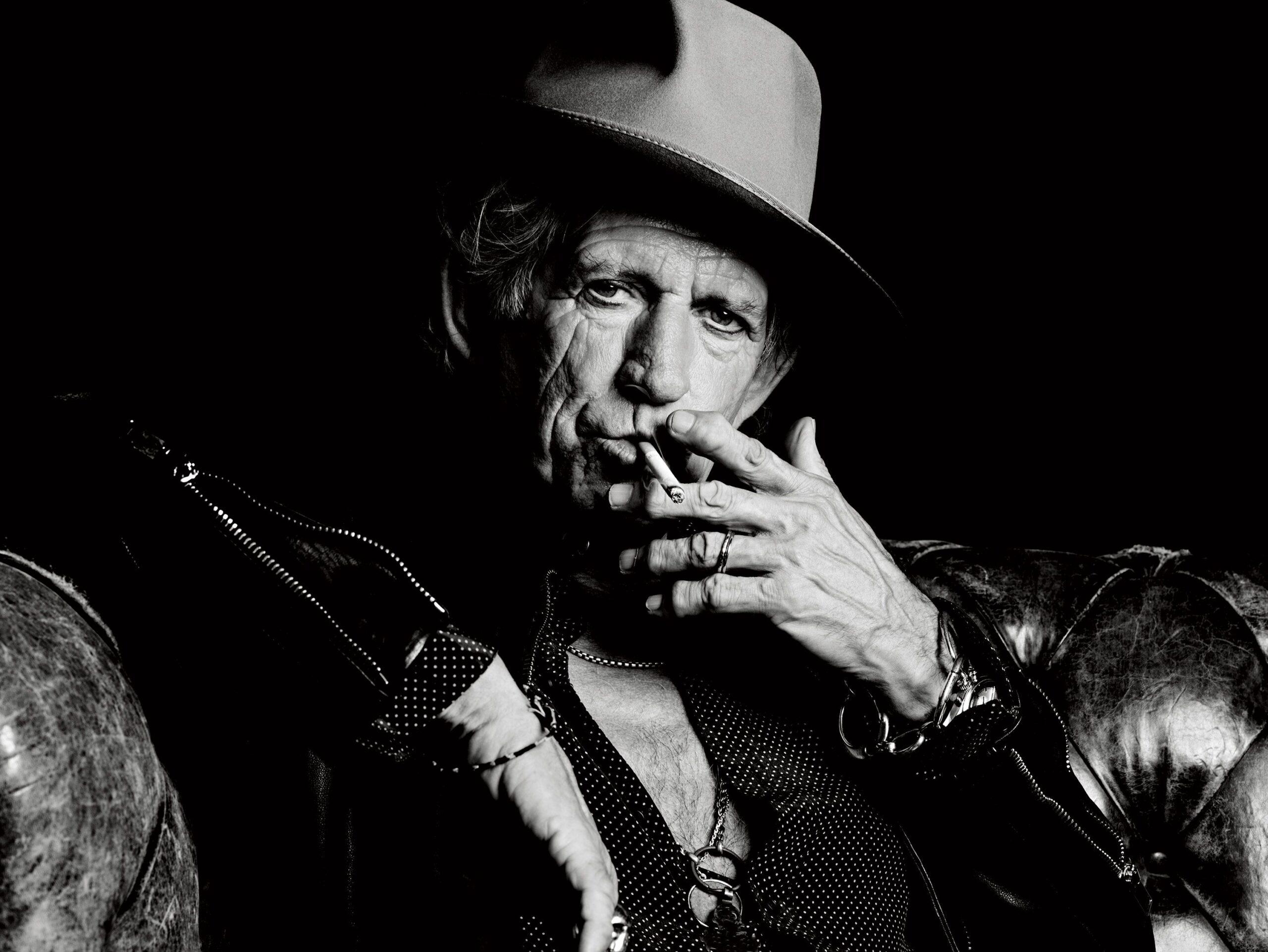 Keith Richards - Credits: Esquire.com