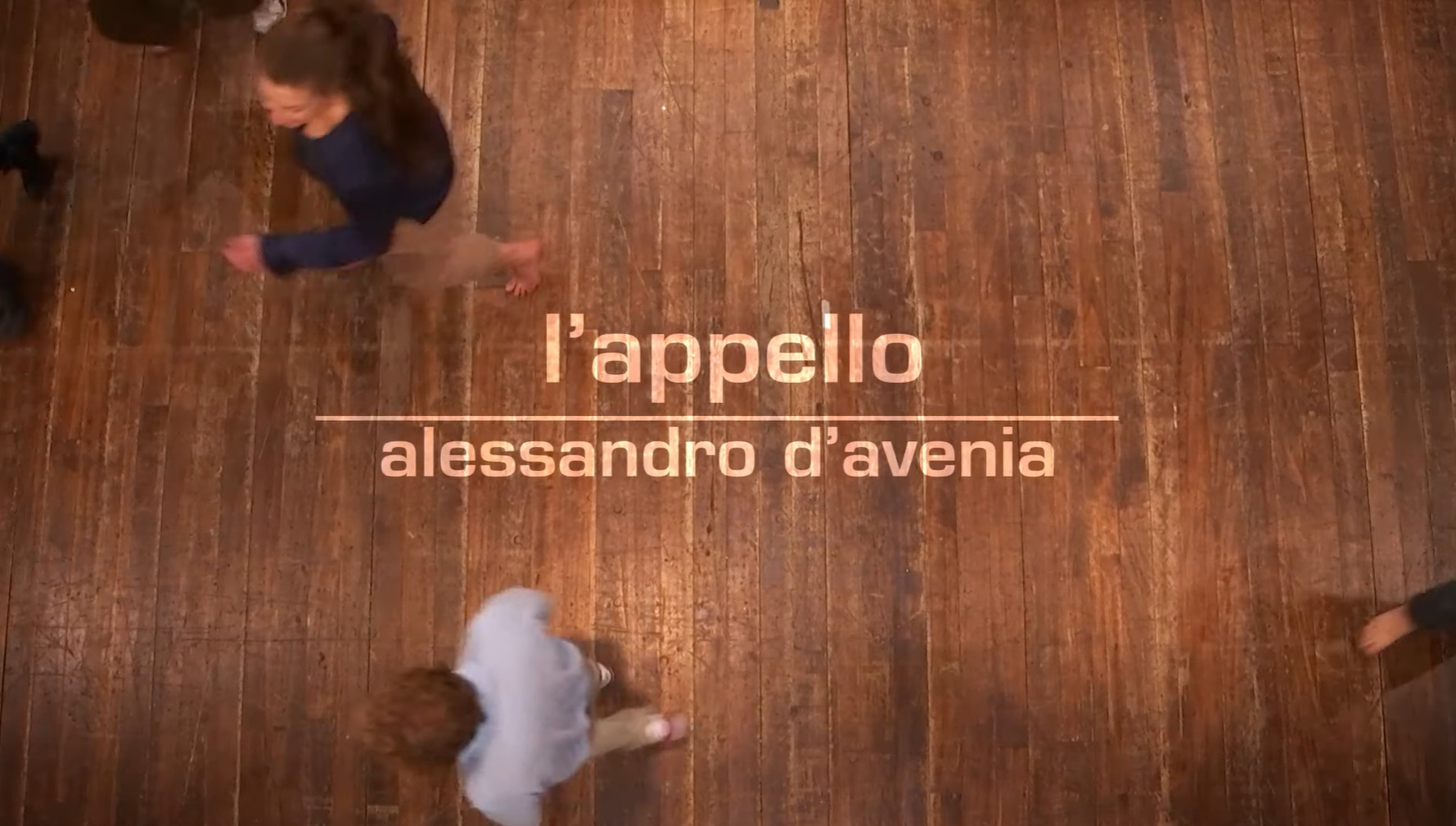 L'Appello, Alessandro D'Avenia Opening Credits: YouTube