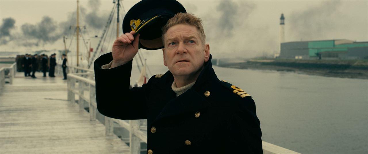 Kenneth Branagh in Dunkirk (Nolan) -