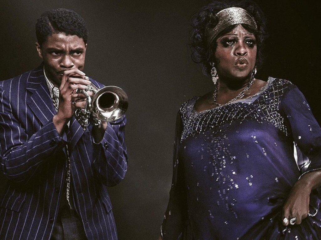 Chadwick Boseman e Viola Davis, Ma Rainey's Black Bottom - Credits: Netflix