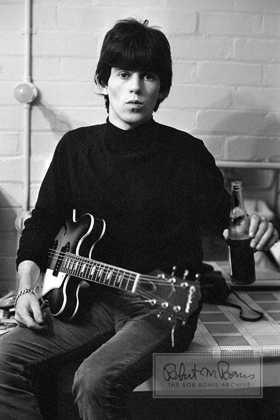 Keith Richards nel 1965 - Credits: Bob Bonis Archive