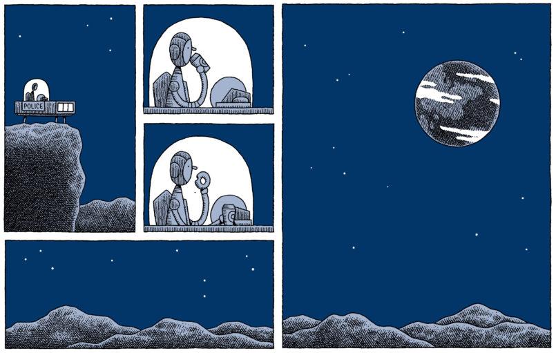 Mooncop- Tom Gauld