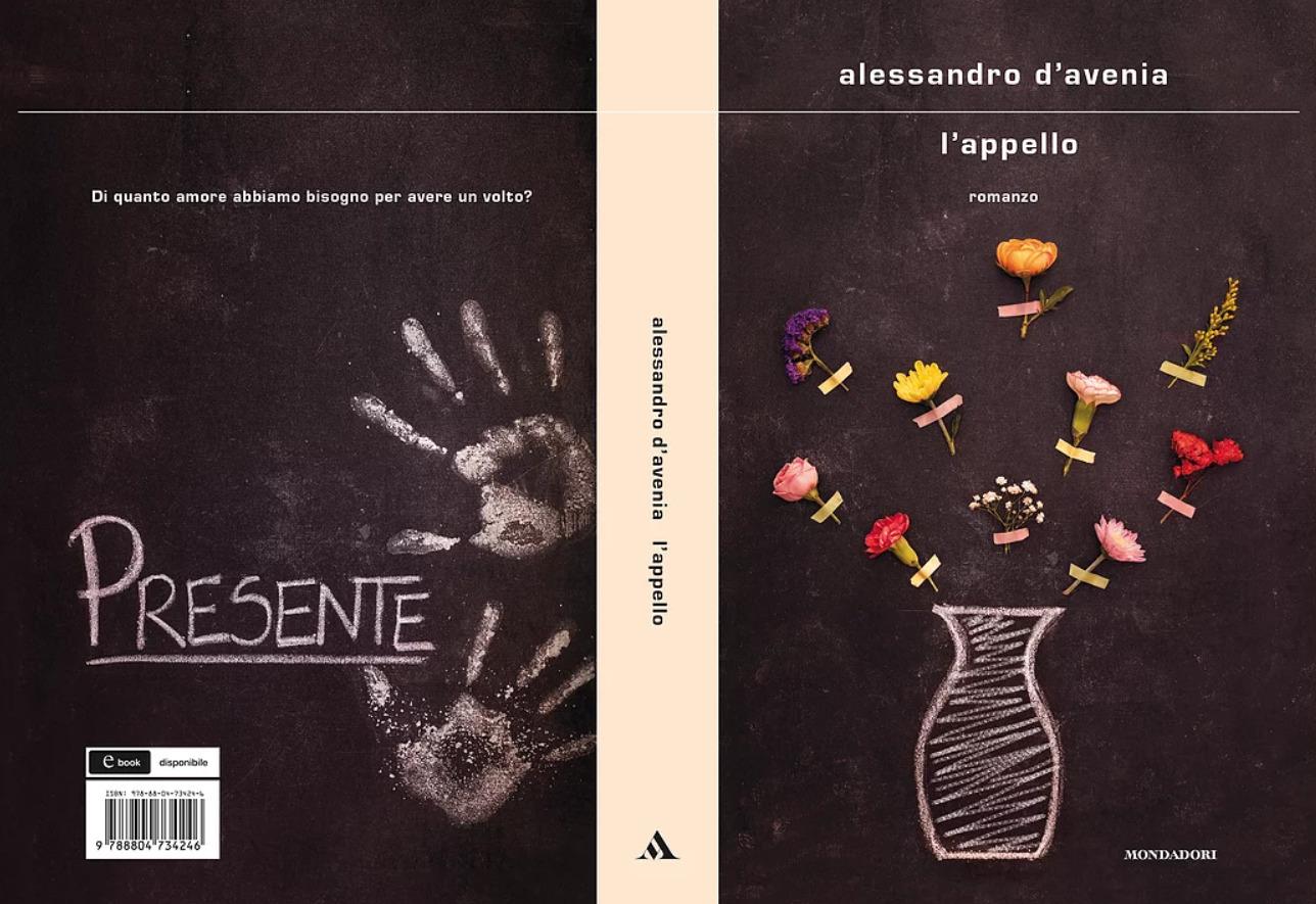 copertina L'appello, D'avenia, Mondadori