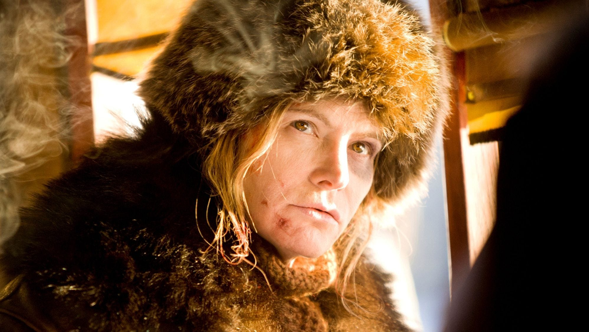 Jennifer Jason Leigh, Daisy Domergue, The Hateful Eight, Quentin Tarantino