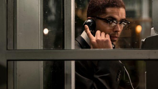 Kingsley Ben-Adir/Malcolm X in One Night in Miami - Credits: Amazon Studios