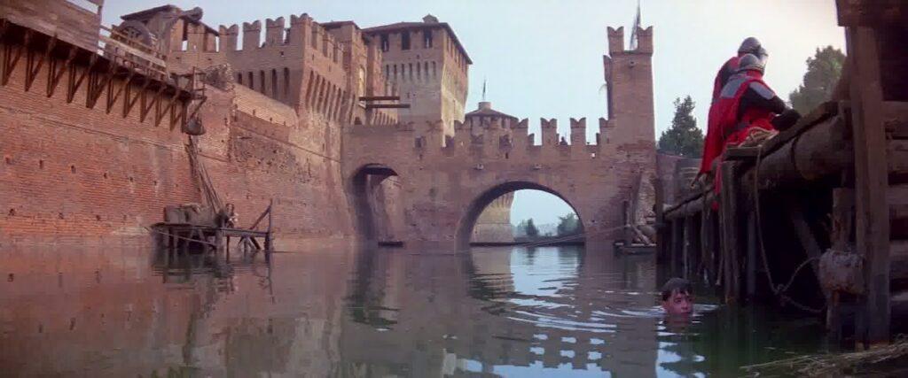 Il Castello di Soncino (Cremona) - Ladyhawke (R. Donner, 1985)