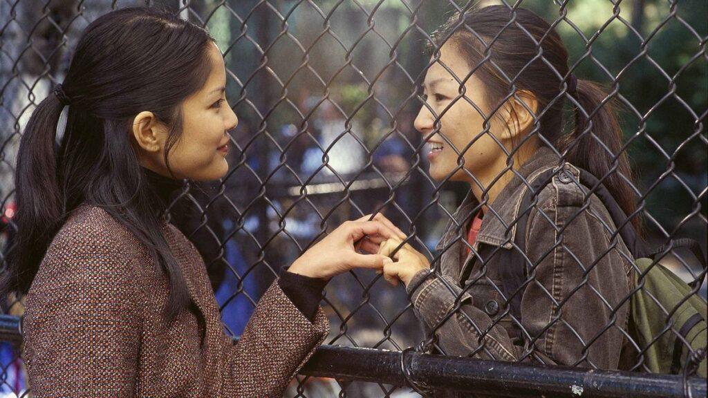 Will e la sua fidanzata Vivian in Saving Face - Credits: Web