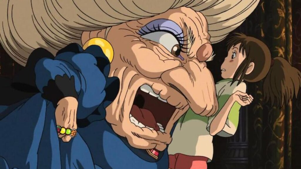 Yubaba e Chihiro - Credits: Studio Ghibli