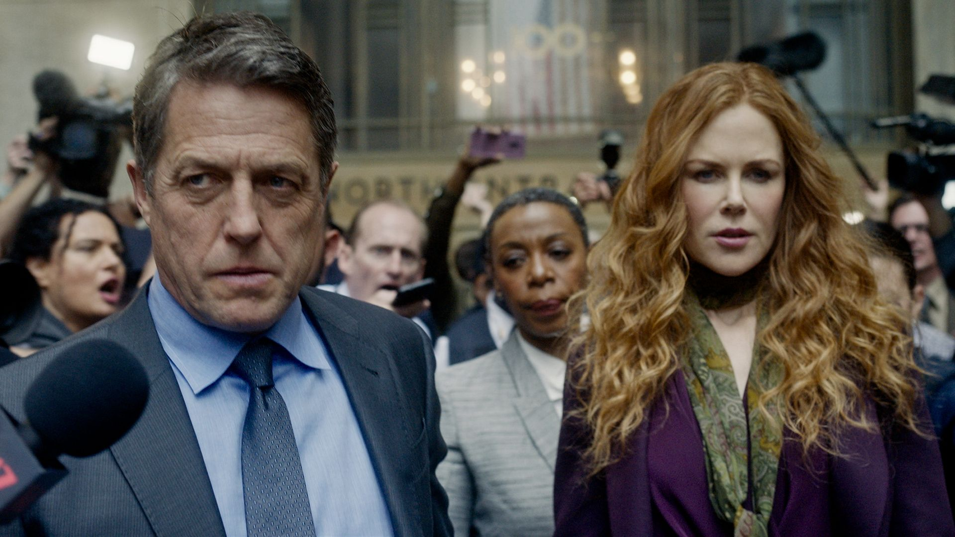 The Undoing - Le verità non dette, Donald Sutherland e Nicole Kidman. HBO.