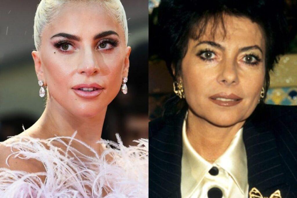 Lady Gaga e Patrizia Reggiani (via web)