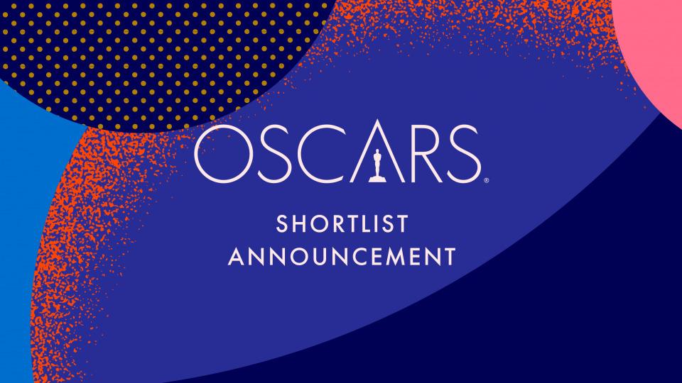 Oscar 2021 - Shortlist, credits: oscars.org