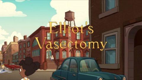 Inizio stile Woody Allen della sezione di Eliot Birch - Credits: Web