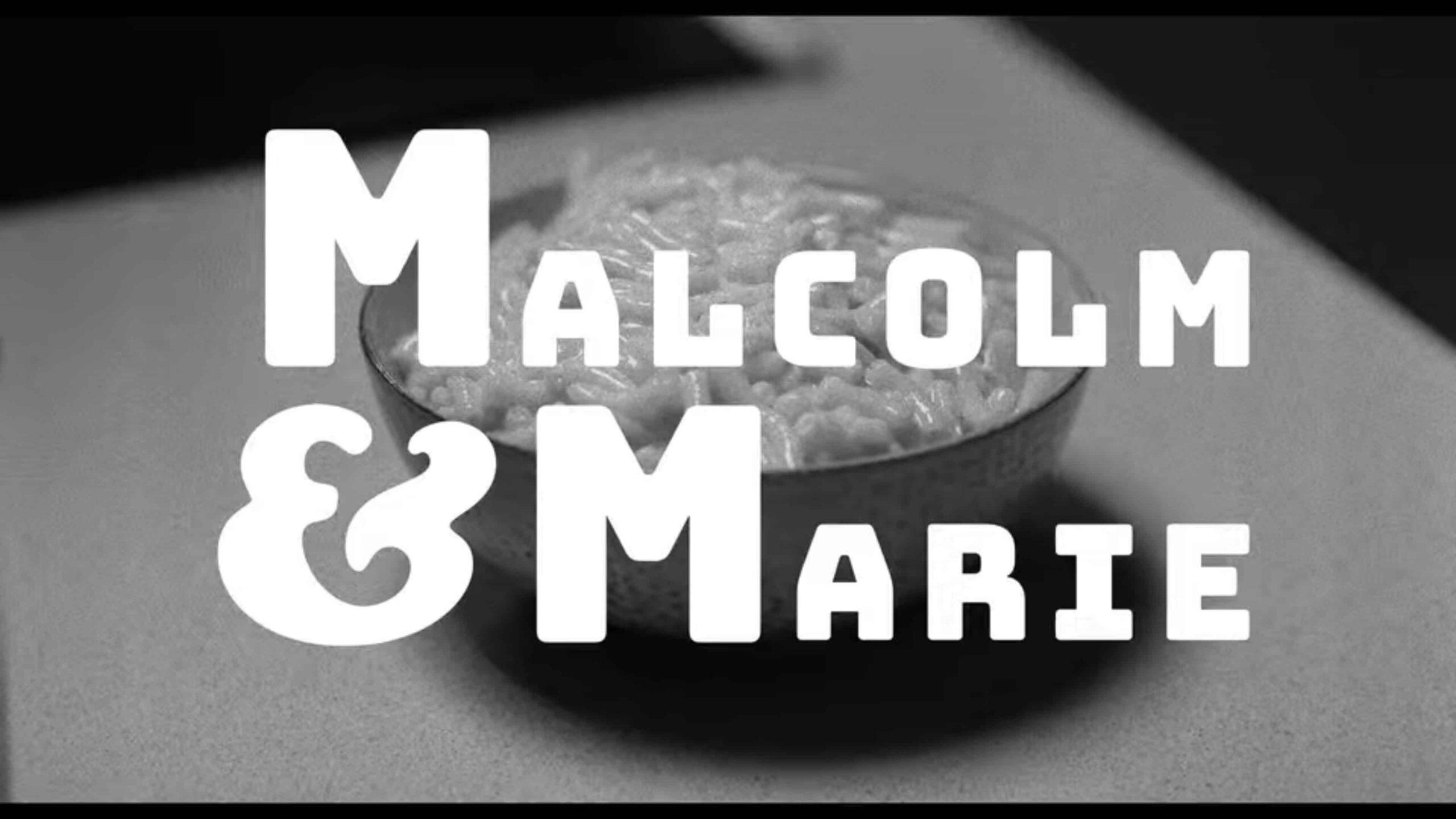 Malcolm & Marie - Sam Levinson, Netflix- dibattito