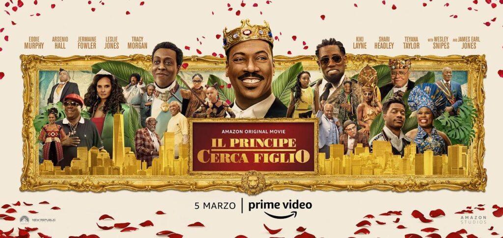 Il principe cerca figlio - Prime video marzo 2021