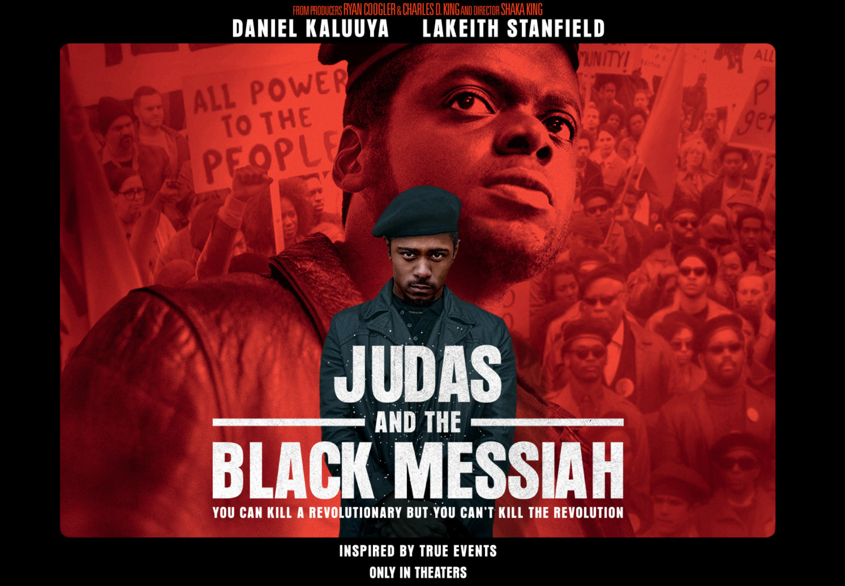 Judas and the Black Messiah / Daniel Kaluuya (Shaka King, 2021)