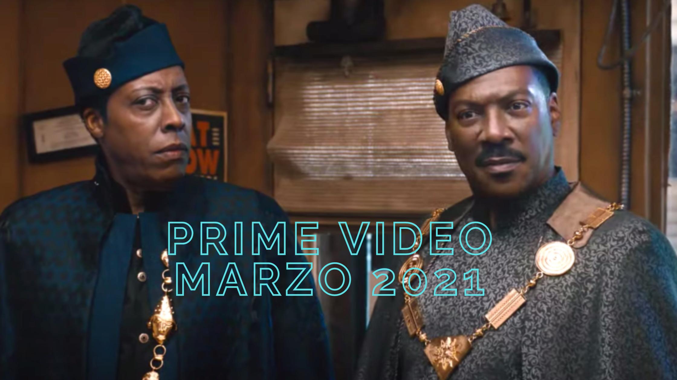 Prime video marzo 2021