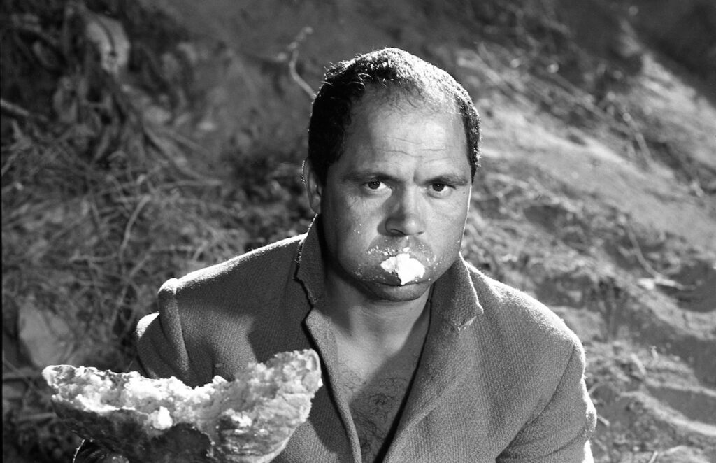 Stracci (Mario Cipriani) - La ricotta, 1963