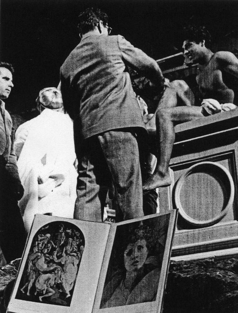 La ricotta, Pasolini, 1963