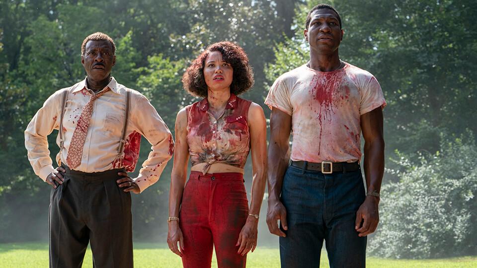 S-D: Courtney B. Vance, Jurnee Smollett, Jonathan Majors - Lovecraft Country HBO