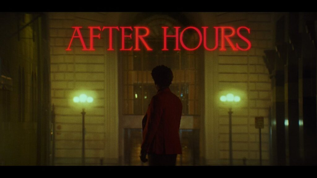 Fotogramma del cortometraggio After Hours