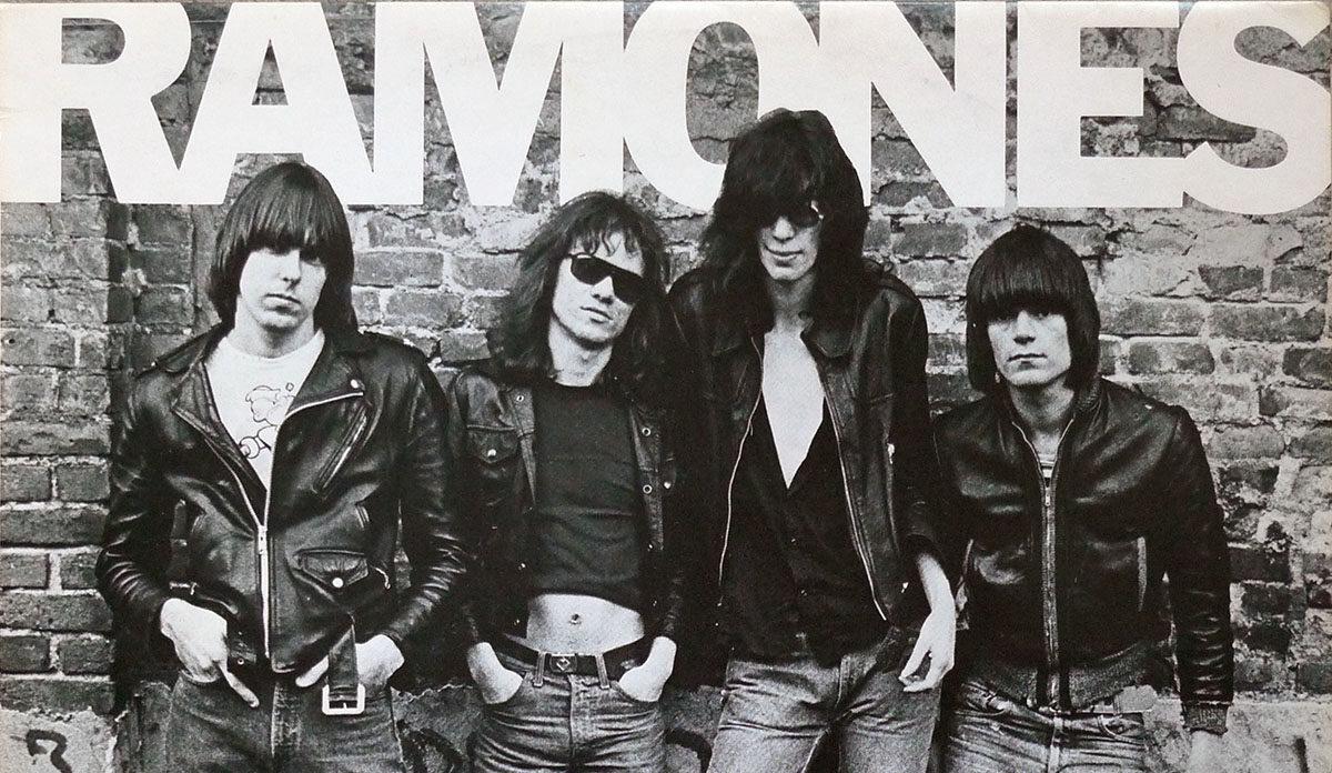 CC BY-NC John Keogh, Ramones their first album on Sire, 1976.