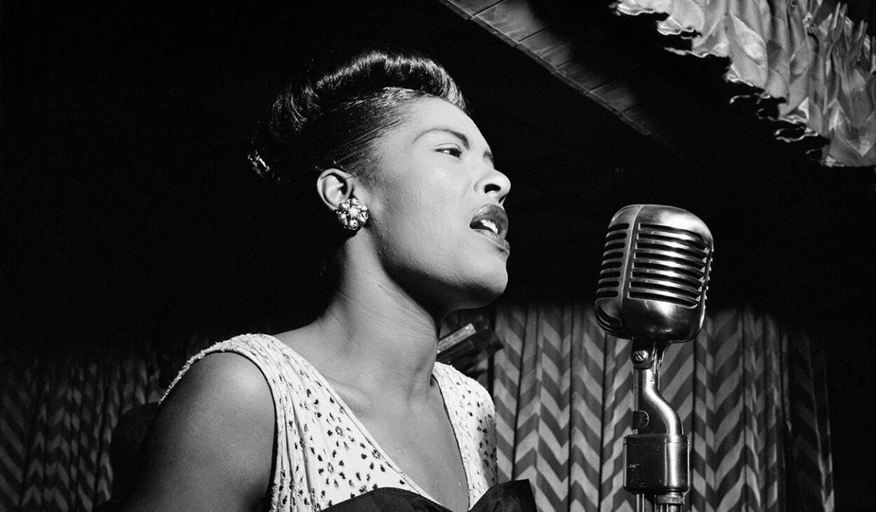 Billie Holiday, Downbeat, New York, N.Y., ca. Feb. 1947, Gottlieb, William P.