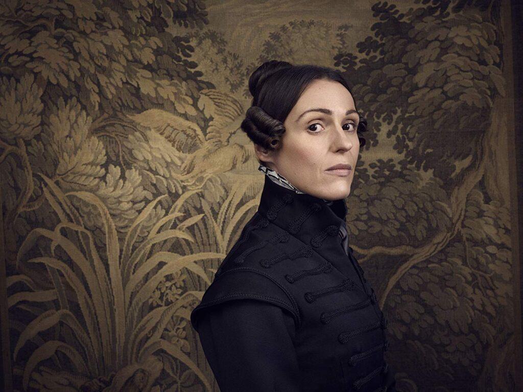 Suranne Jones nel ruolo di Anne Lister, Gentleman Jack - Credits: BBC/HBO